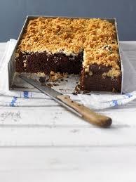 brownies mit versunkenen kokosstreuseln momo maus