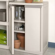 Sterilite 4 Drawer Cabinet 2 Pack by Amazon Com Sterilite 01408501 2 Shelf Cabinet With Putty Handles