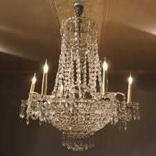 lighting italian six arm glass chandelier with murano glass fruit