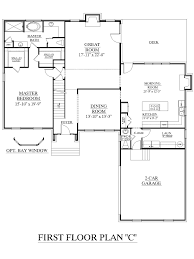 Impressive Ideas 2 Story House Plans Master Bedroom Downstairs