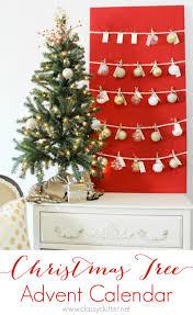 Slimline Christmas Tree Asda by Christmas Tree Advent Calendar With Ornaments Rainforest Islands