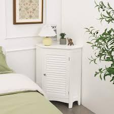 costway eckschrank badezimmer mit 5 stufig kaufland de