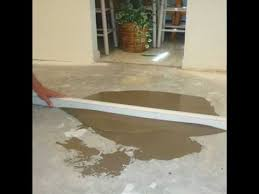 Laying Tile Over Linoleum Concrete by How Can I Prepare Uneven Concrete Basement Floor For Vinyl Planks