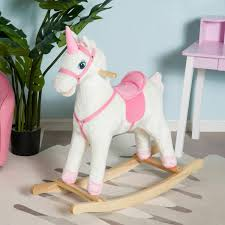 Qaba Kids Plush Rocking Horse Unicorn Ride On Toy Toddler Rocker Chair W/  Song Rocking Chair Starlight Growwithme Unicorn Rockin Rider Rocking Horse Wooden Toy Blue Color White Background 3d John Lewis Partners My First Kids Diy Pony Ba Slovakia Sexy Or Depraved Heres The Bdsm Pony Girl Chairs Top 10 Best Horse In 2019 Reviews Best Pro Reviews Little Bird Told Me Pixie Fluff Pink For 1 Baby Brown Plush Chair Toddler Seat Wood Animal Rocker W Sound Wheel Buy Rockerplush Chairplush Timberlake Happy Trails Pink With