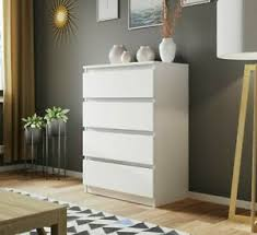 details zu kommode walma 4 schubladen schlafzimmer highboard sideboard design modern m24