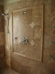 Casa Antica Tile Floor And Decor by Bathroom Travertine Bathroom Tile And Floor With Bath Up For