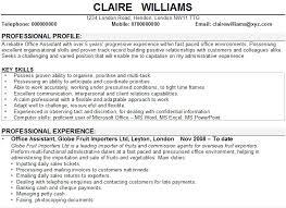 Office Assistant CV Sample