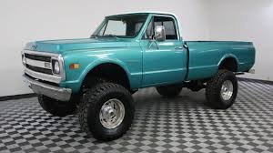 1969 CHEVROLET C20 PICKUP GREEN - YouTube