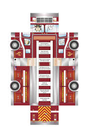 100 Fire Truck Template Safety Fireman Theme Pinterest Safety And