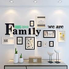 fotowand fotorahmen einfache moderne wohnzimmer dekoration