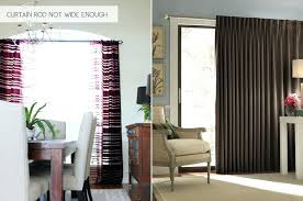 Menards Traverse Curtain Rods by Charming Curtain Rod For Sliding Glass Door Is Here In Combination