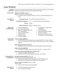 Career Objective For Resume For Experienced Software Engineers New