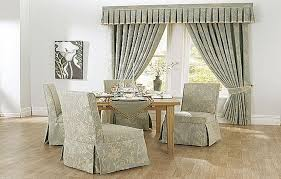 Creative Ideas Gray Dining Room Chair Covers Charming Rectangle Modern Cotton Seat