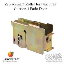 Peachtree Patio Door Glass Replacement by Citation 3 Roller Assembly 1 1 4 Steel Wheel