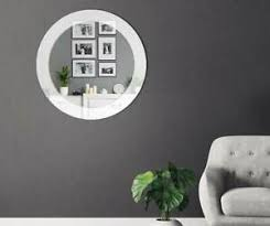 details zu neu design runder spiegel lacobel farbe zu wählen kristallglass wohnzimmer
