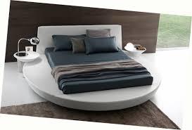 Presotto Zero Sunrise round platform bed