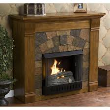 Image Of Rustic Electric Fireplaces