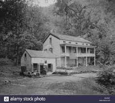 100 Sleepy Hollow House Rip Van Winkle Catskill Mountains NY Stock