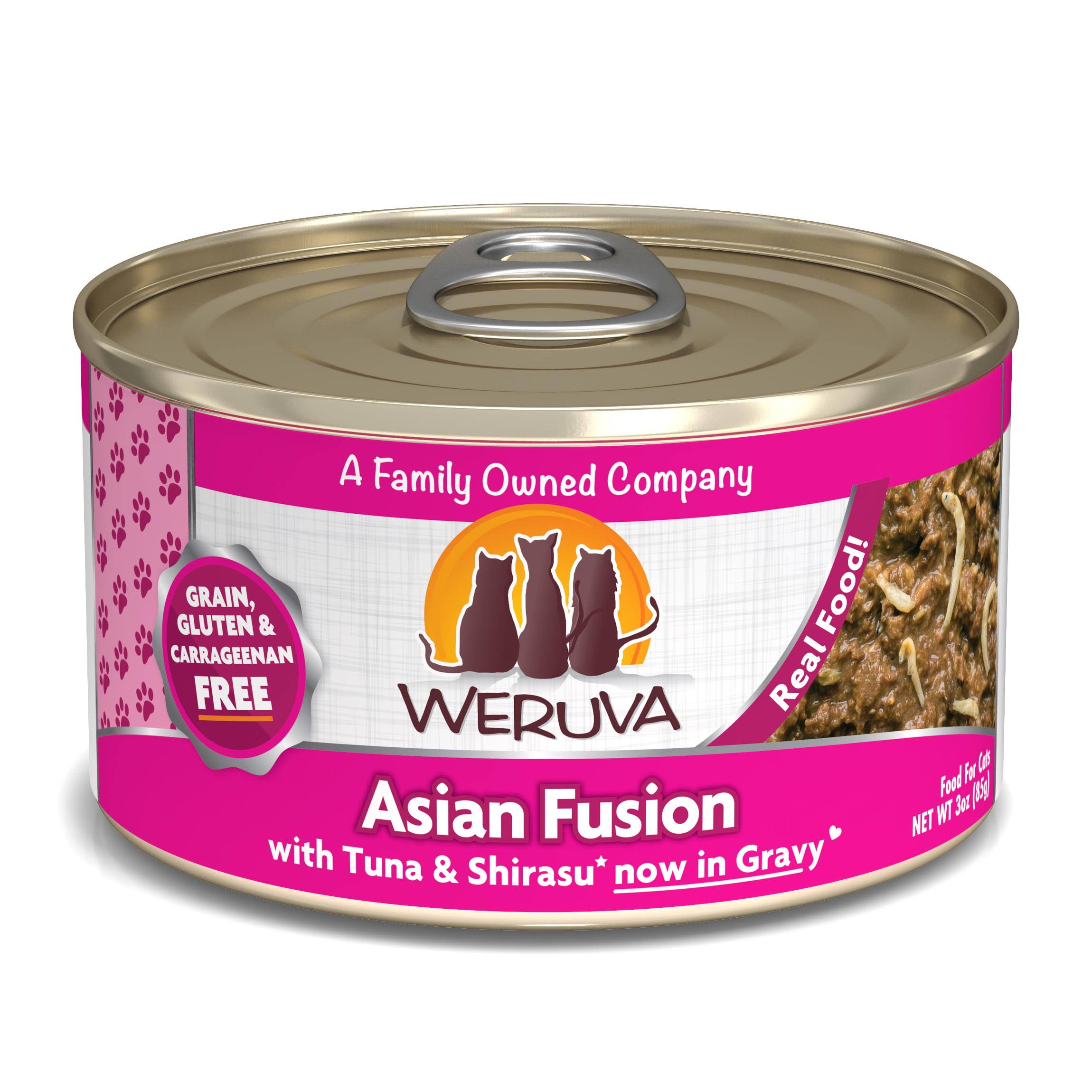 Weruva Cat Food - Asian Fusion With Tuna Rice And Shirasu Cat Food