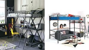 bureau ado pas cher lit mezzanine ado avec bureau et rangement lit mezzanine ado avec