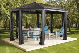 patio mate 10 panel screen enclosure 09322 sojag komodo 12 x 18 with galvanized steel roof