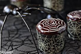 Spiderweb Cupcakes And Chocolate Spiders Recipe