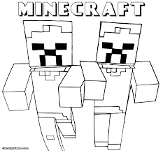 Download Coloring Pages Minecraft Color To And Print