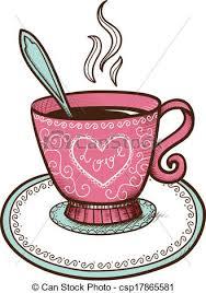 Pink Clipart Coffee Mug 4