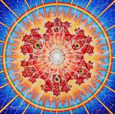 100 Original Vision Alex Greys Original Crystal Mandala Painting Flickr