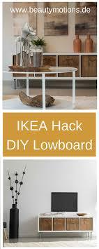 diy lowboard selber machen ikea hacks individuell