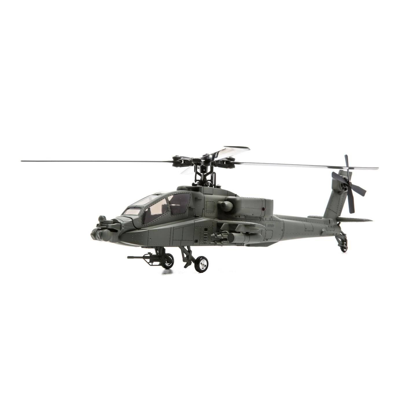 Blade Micro Ah-64 Apache Rtf Helicopter Vehicle