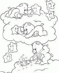 Care Bears Coloring Kids Book
