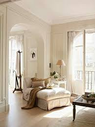 Lots Of Off White Arched Doorway Into Sitting Area In Master Bedroom Light Flooring Details Wall Millwork Room Above Fireplace Great