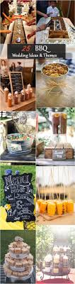 Top 25 Rustic Barbecue BBQ Wedding Ideas