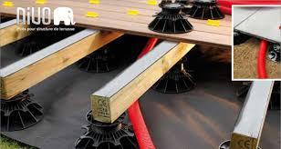 plot reglable pour terrasse bois plots réglables pour lambourde bois pose de terrasse bois ou