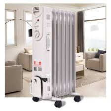 Details About Radiator Space Heater Electric Time Oil Filled Energy Efficient Home Room Heater