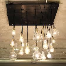 chandeliers light bulb chandelier etsy edison light bulb