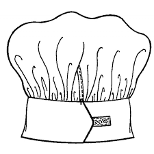 Paragraph Chef Hats Colouring Pages Page 3