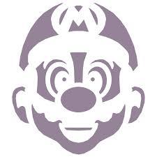 Pirate Halloween Stencils by Best 25 Mario Pumpkin Ideas On Pinterest Fall Birthday