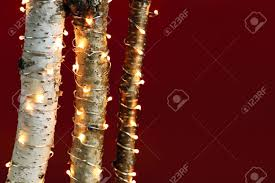 Christmas Tree Tinsel Icicles by Lighted Christmas Tree Stock Photos U0026 Pictures Royalty Free