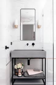 badezimmer trend aus waschbecken in szene setzen