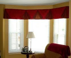 marvelous window valance ideas bay window valances for living room