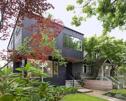 100 Cedar Sided Houses Pink House Stained Exterior Conceals A Clean Modern Interior