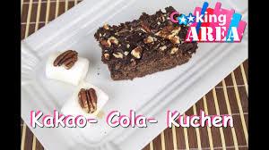 kakao cola kuchen schnell einfach selber kochen cookingarea rezepte und tipps 2015