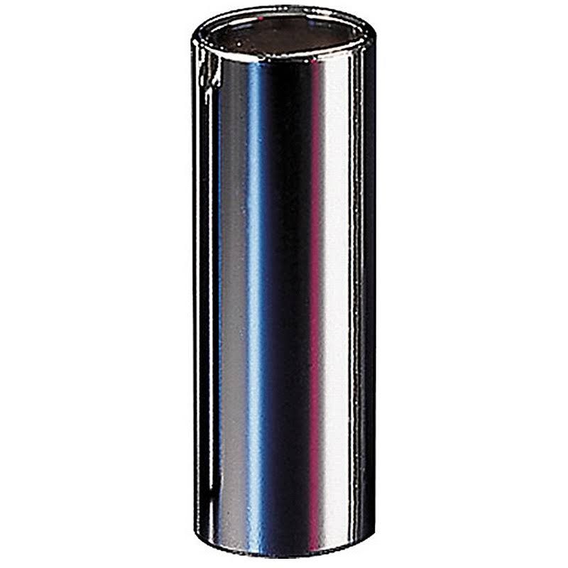 Dunlop 220 Chromed Steel Slide - Medium Wall Thickness