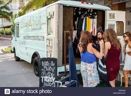 100 The Fashion Truck Miami Beach Florida Ocean Drive Popup Store Trendy Fashion