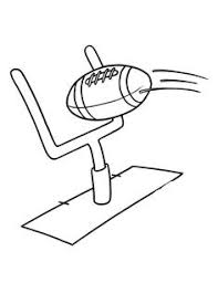 Football Coloring Pages Field Page Classroom