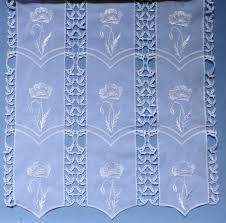 achat voilage au metre rideaux voilage rideau brodé et macramé
