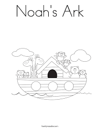 Great Noah Ark Coloring Pages 30 For Site With