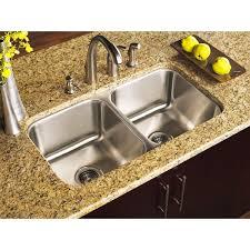 33x22 Stainless Steel Kitchen Sink Undermount by Double Kitchen Sink